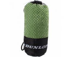 Dunlop vert serviette de sport dans un sac de maille 80 x 40 cm - Linge de bain