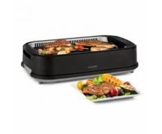 Klarstein Köfte Barbecue électrique 1500W - Grill de table à commande tactile - 230° C max - inox noir - Grillade et barbecue