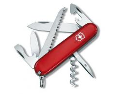 Couteau Suisse de Poche - Victorinox Camper - 1.3613 - Rouge - 13 Outils - Couteau