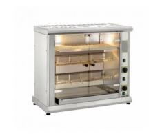 Rôtissoire Professionnelle électrique à 2 broches - 8 poulets - Furnotel - - Accessoires pour barbecue et fumoir