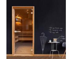 Papier-peint pour porte - Sauna - Artgeist - 70x210 - Décoration des murs