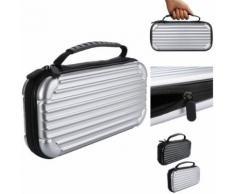 WaterproofABS Case Carbon Shell Portable Pouch Sac Voyage pour Nintendo Commutateur Pealer178 - Équipements et sécurité pour la maison