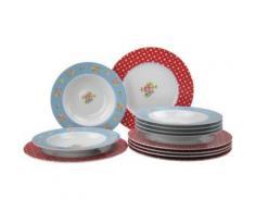 CREATABLE 16368 COUNTRY EMILY SERVICE DE TABLE 12 PIÈCES - vaisselle