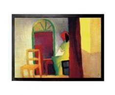 August Macke Paillasson Essuie-Pieds - Café Turc I, 1914 (70x50 cm) - Tapis et paillasson