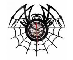 Style de Creative Non-Coutil Silencieux Antique Caoutchouc Horloge Murale Pour La Maison Cuisine Noir PL685 - Décoration murale