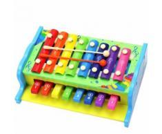 Musique en Bois Enfant Enfant Jouets Détail Bébé Jouets Instruments Intelligence Multicolore WEN285 - Jouet multimédia