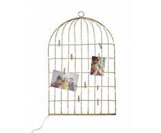 VERTBAUDET - Pêle-mêle lumineux Cage à oiseaux - doré - TU - Luminaire enfant