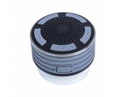 Haut-parleurs portables Bluetooth sans fil avec radio Douche Haut-parleur IPX7 Ventouse - Enceinte sans fil