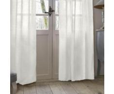 Rideau Voilage Manoir 140x260cm Blanc - Rideaux et stores
