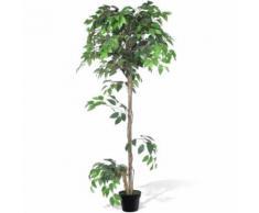 Palmier Artificiel Plastique avec Pot 160 cm - Plantes, graines et bulbes