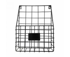 Accrochage Simple Fer Mural Porte-Revues Journal Étagère de Rangement Organisateur Snpl363 - Rangement de l'atelier