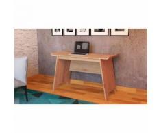 Bureau en bois naturel - BU4021 - Bureaux enfant et accessoires