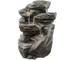 Zen Light - Fontaine relaxante Niagara éclairages LEDs - Relaxation et massage