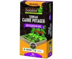 Solabiol TERREAU Carre Potager 50 litres TERCARPOT50 - Terreaux, paillis et substrats