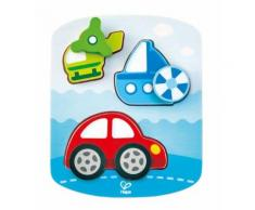 Hape moulure en bois puzzle véhicules 8 pièces - Autres jouets en bois