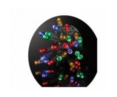 Guirlande de noel led exterieure filaire pvc - 3 m - multicolore - electrique - Objet à poser
