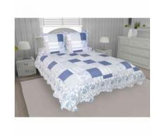 Couvre-lit Arles 240x220 cm 2 taies d'oreillers - Equipement du lit