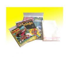 500 pochettes plastique avec rabat autocollant pour divers 130mm x 180mm - Autres Classement et Archivage