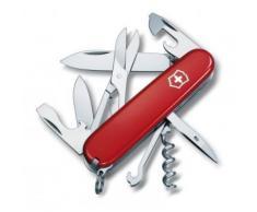 Couteau Suisse multifonction Victorinox Climber 91mm 15 fonctions - 1.3703.T - Acier inoxydable - Acrylique - Rouge translucide - Objet à poser