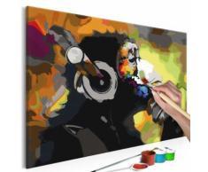 60x40 Tableau à peindre par soi-même Kits de peinture pour adultes Esthetique même - Décoration murale