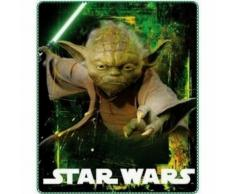Plaid polaire Star Wars YODA Couverture New - Textile séjour