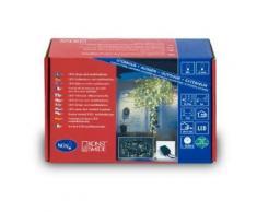 KONSTSMIDE 3630-110 GUIRLANDE 80 MICRO LED BLANC CHAUD + CLIGNOTANTE + CÂBLE NOIR 24 V - Objet à poser