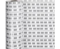 Vivi Gade papier d'emballage sauna 57 cm x 150 m blanc - Article de fête