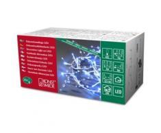 KONSTSMIDE 3172-403 GUIRLANDE DÉCO PERLES + 32 LED BLEU + CÂBLE TRANSPARENT 24 V - Objet à poser