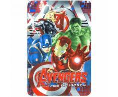 Plaid polaire Les Avengers couverture enfant Disney mod2 - Textile séjour