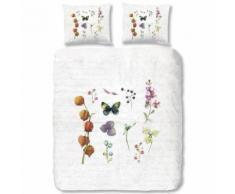 Good Morning Parure de Couette, Coton, Multicolore, 220x200x1 cm - Linge de lit