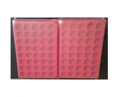 50 box / collecteurs / plateaux velours pour capsules muselets / 40 cases rondes avec couvercle - Autres Classement et Archivage