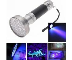 100 LED UV Blacklight Scorpion lampe de poche Super Bright Light Detection extérieur - Torches