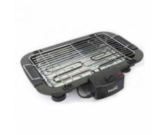 Barbecue Électrique Basic Home 2000W Noir (52 X 52 x 38 cm) - Cuisiner en extérieur