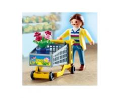 PLAYMOBIL - 4638 - Cliente/caddie/fleurs - Playmobil