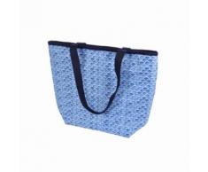 Paris Prix - Sac Shopping Isotherme blue Wave 20l Bleu - Chariots de courses