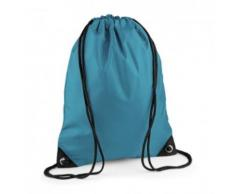 Sac à dos à bretelles - gym - linge sale - chaussures - BG10 - bleu ocean - Sac à dos bandoullière