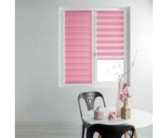 Store enrouleur jour et nuit 45 x 180 cm polyester daynight Rose - Rideaux et stores