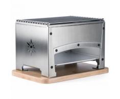 barbecue de table à charbon 33x22cm - brasi-f - Barbecue