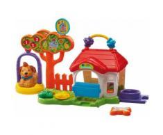 VTech Baby 80189204 Tip Tap Animaux Niche pour Chien Multicolore - Jouet pour le bain