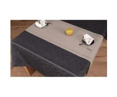 Chemin de table 150x40 LINE GREY - Autres