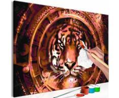 60x40 Tableau à peindre par soi-même Kits de peinture pour adultes Magnifique même - Décoration murale