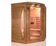 Sauna infra rouge spectra 3 places angulaire - Saunas