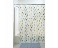 InterDesign 29680EU Rideau de Douche Robotz PEVA Multicolore 180 x 180 cm - Accessoires salles de bain et WC