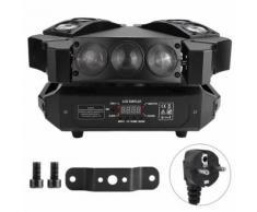 Lampe LED de Scène 90W Rgb DMX Changement de Couleur Étanche - Appliques et spots