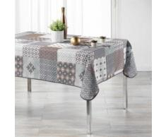 nappe rectangle 150 x 240 cm polyester imprime kario - Linge de table