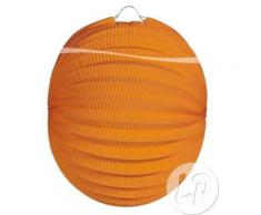 lampion rond orange 22cm - Article de fête