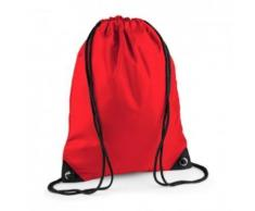 Sac à dos à bretelles - gym - linge sale - chaussures - BG10 - rouge bright - Sac à dos bandoullière