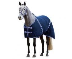 Kerbl 323635 couverture classique pour cheval en polaire 125 cm (bleu noir) - Toilettage du cheval