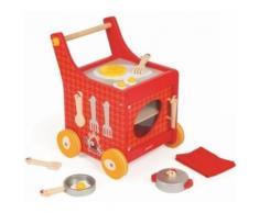 Chariot de cuisine en bois : the french cocotte 34 x 32,5 x 43 cm - jeu d imitation enfant - Autre jeu d'imitation