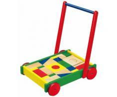 Chariot à pousser / Chariot de marche blocs en bois bébé enfant 1an+ - Trotteurs